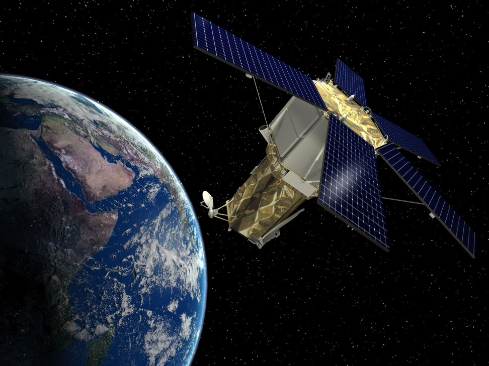 There are an estimated 3,600 satellites in space, the majority of which perform no processing on the data transferring through them