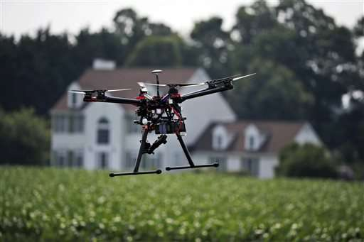 Computer vision-equipped drones can evaluate progress of a crop