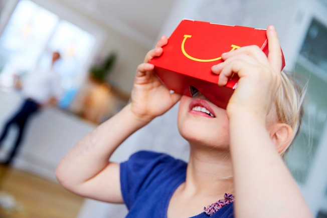 MacDonalds Virtual Reality