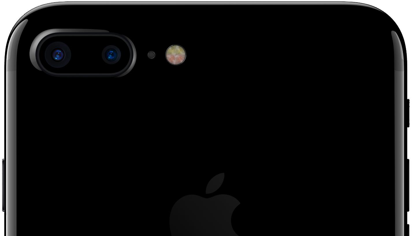 Apple iPhone 7 Plus featuring dual camera (Source: Apple)